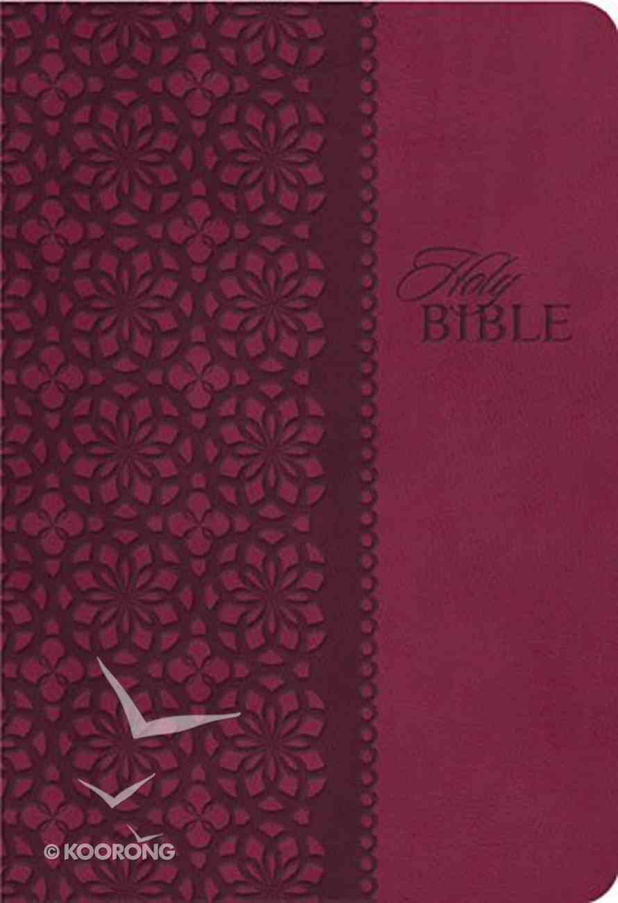 KJV Study Bible Cranberry With Indexing (Second Edition) Imitation Leather