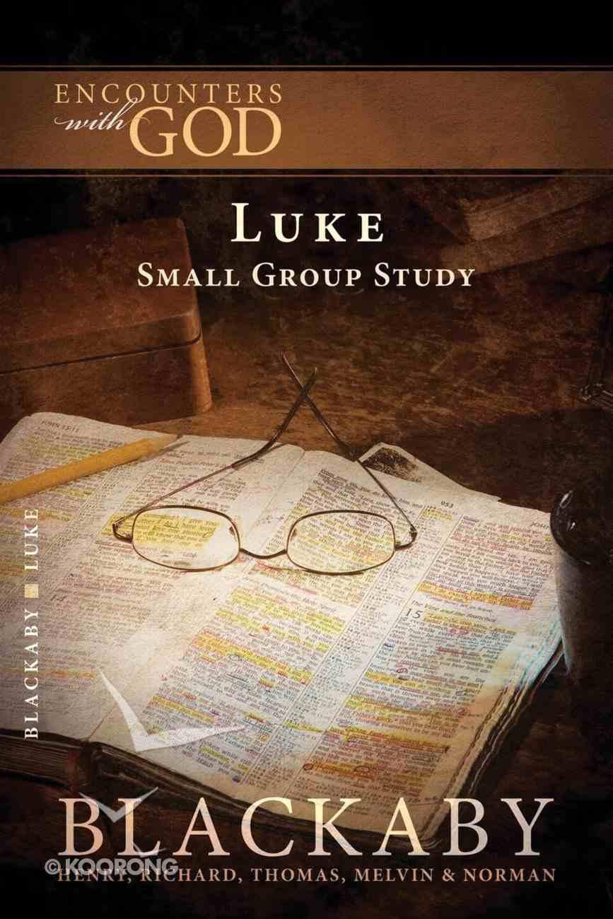 Luke (Blackaby Bible Basics Series) Paperback