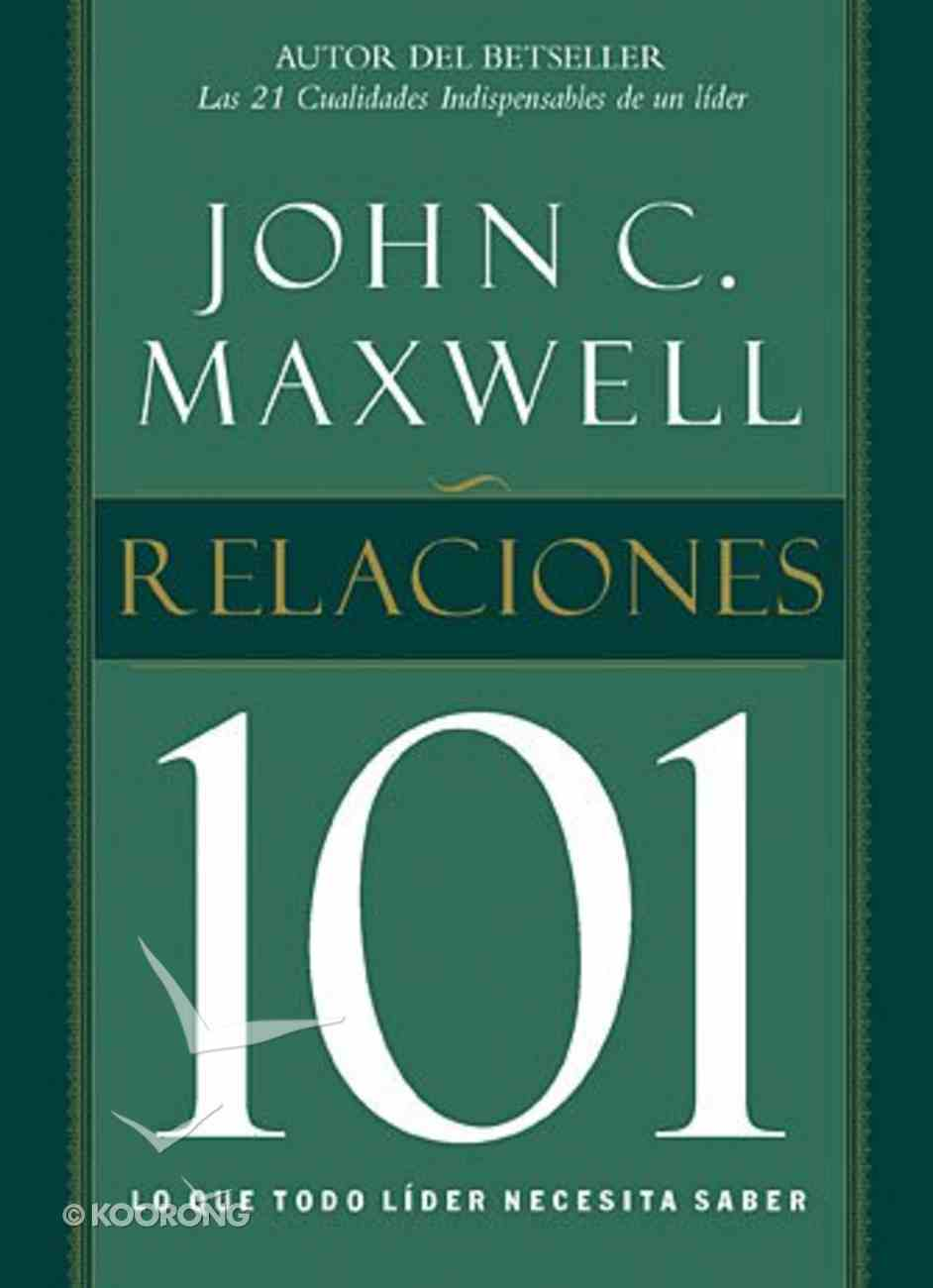 Relaciones 101 (Relationships 101) Paperback