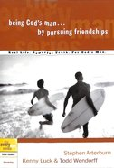 Every Man Bss: Being God's Man By Pursuing Friendships image