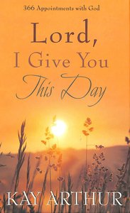Product: Lord, I Give You This Day Image