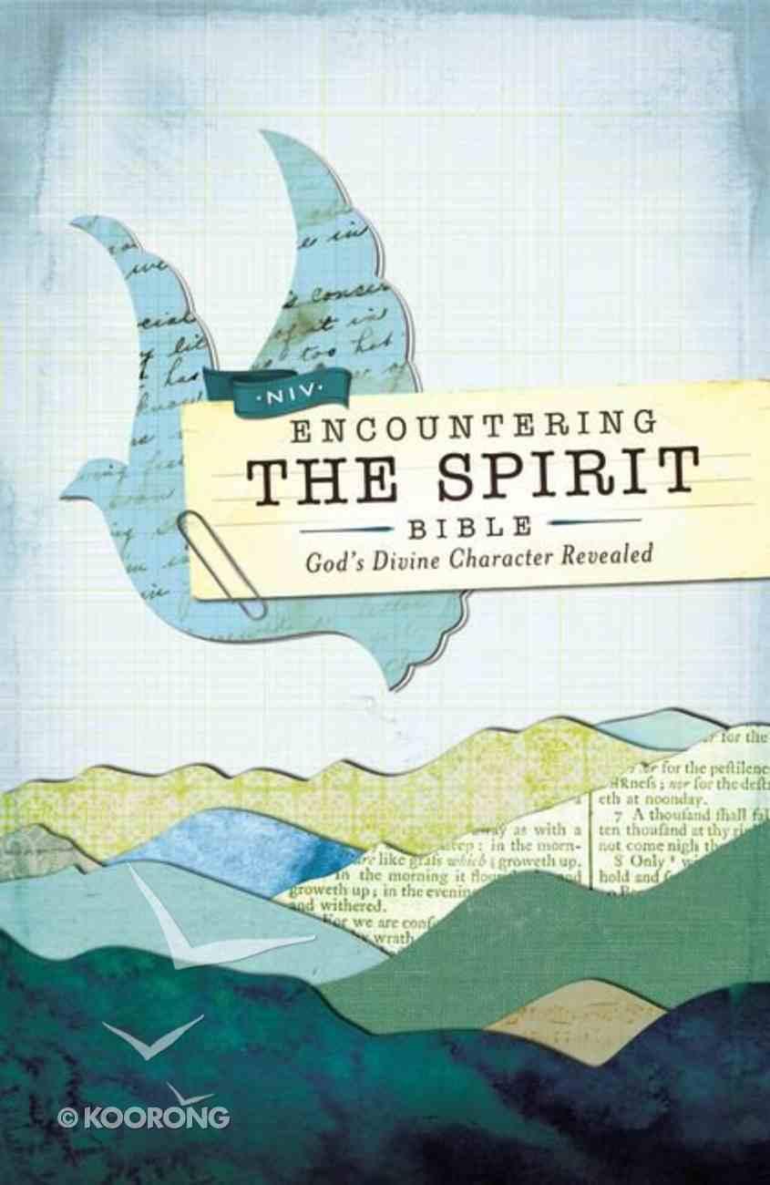 NIV Encountering the Spirit Bible (Red Letter Edition) Hardback