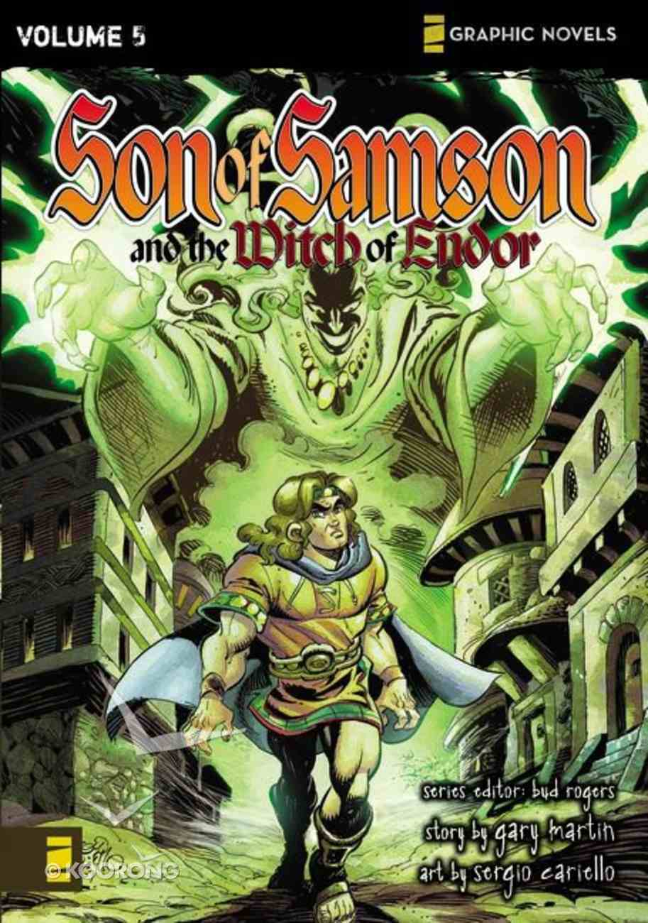 The Witch of Endor (Z Graphic Novel) (#05 in Son Of Samson Series) Paperback