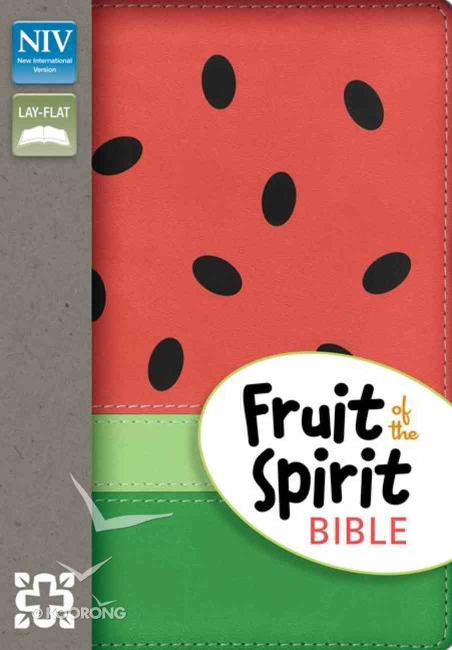 NIV Fruit of the Spirit Bible Collection Watermelon (Red Letter Edition) Imitation Leather