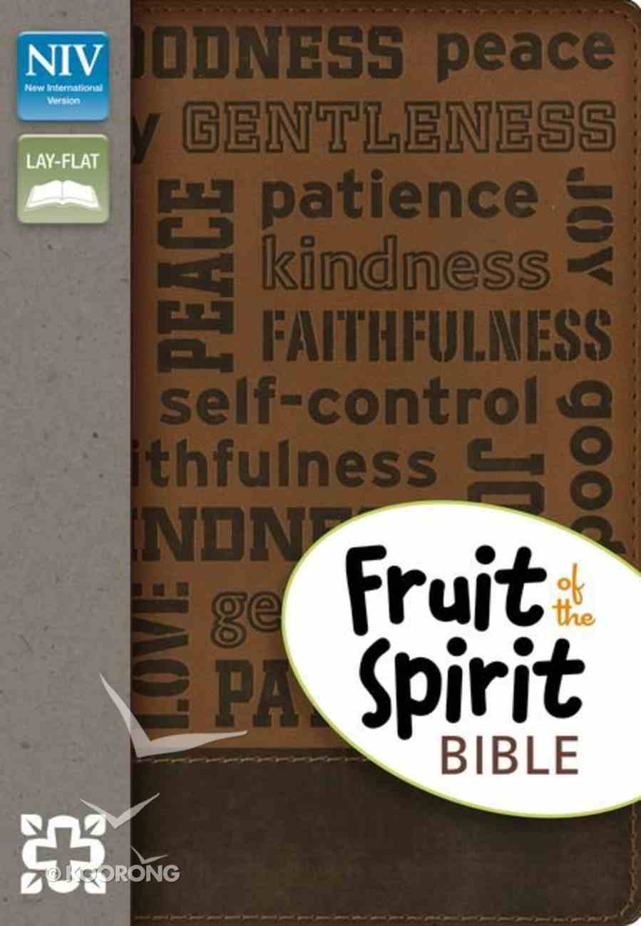 NIV Fruit of the Spirit Bible Collection Brown (Red Letter Edition) Imitation Leather