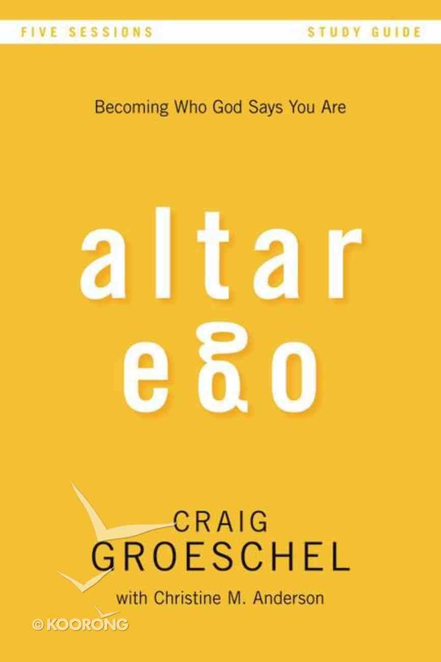 Altar Ego (Study Guide) Paperback