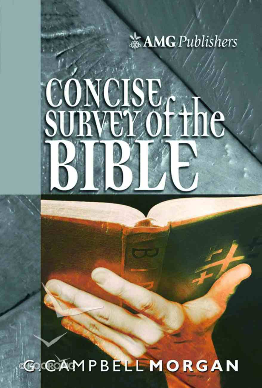 Amg Concise Survey of the Bible Paperback