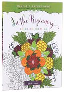 Adult Colouring Book: In The Beginning Colouring Creation image