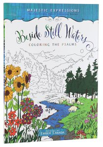 Product: Adult Colouring Book: Beside Still Waters Coloring The Psalms Image