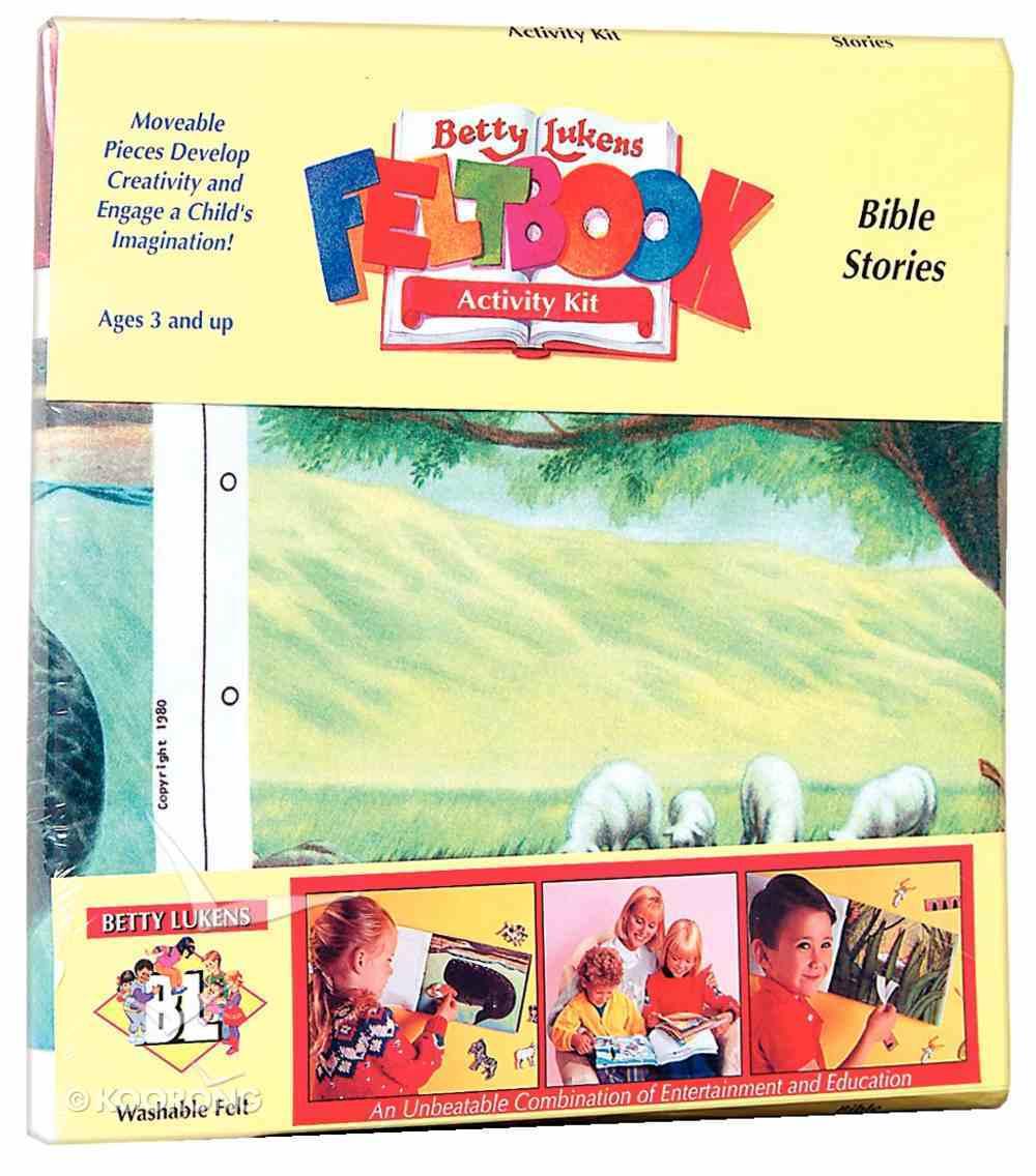 Lukens Felt Book 01: Bible Stories Flannelgraph