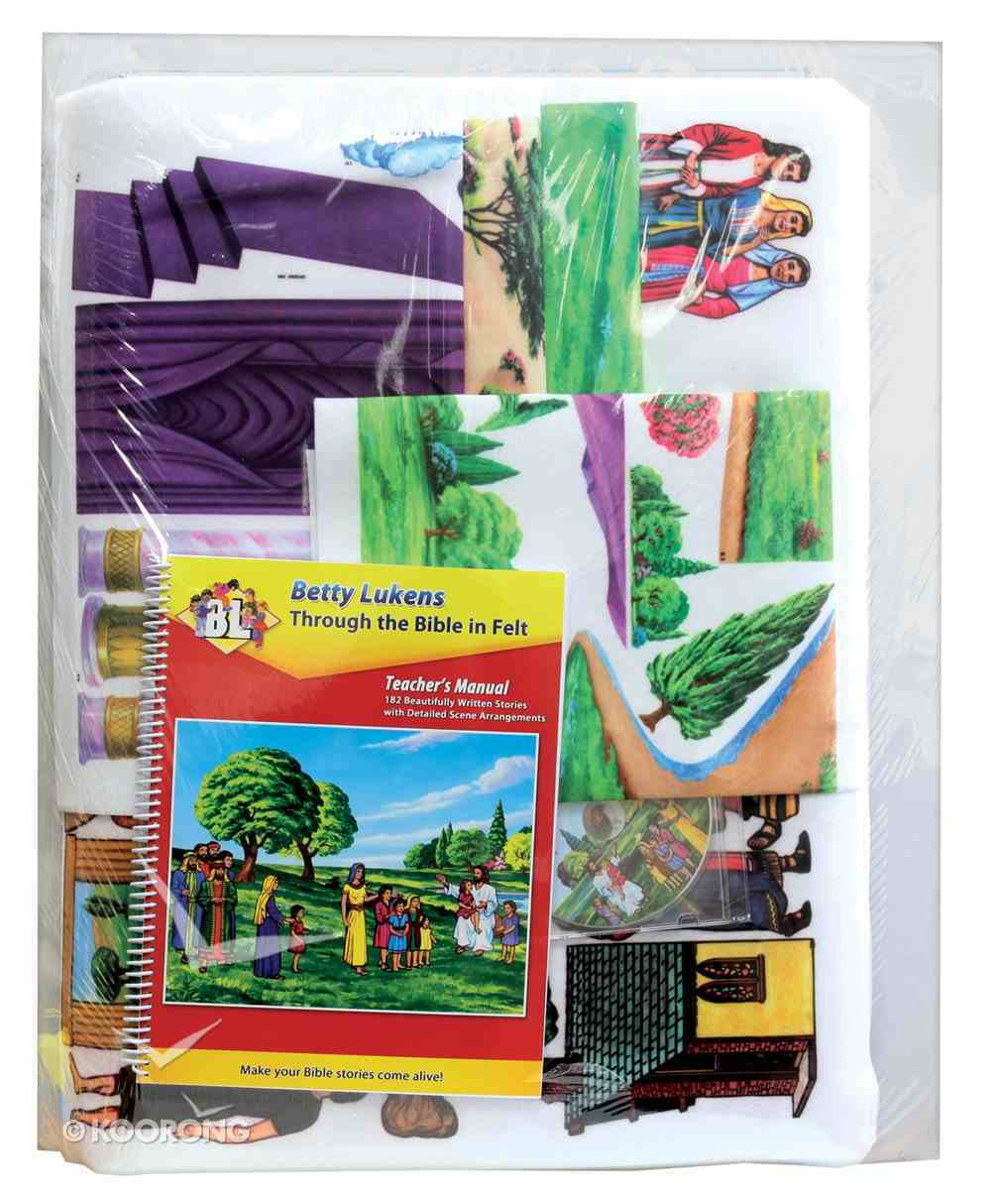 Lukens Deluxe Small Bible Story Set Flannelgraph