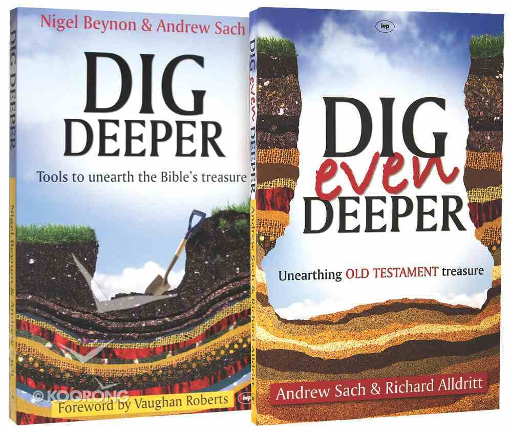 Dig Deeper: Unearthing Bible Treasure 2-Pack (2 Vols) Pack