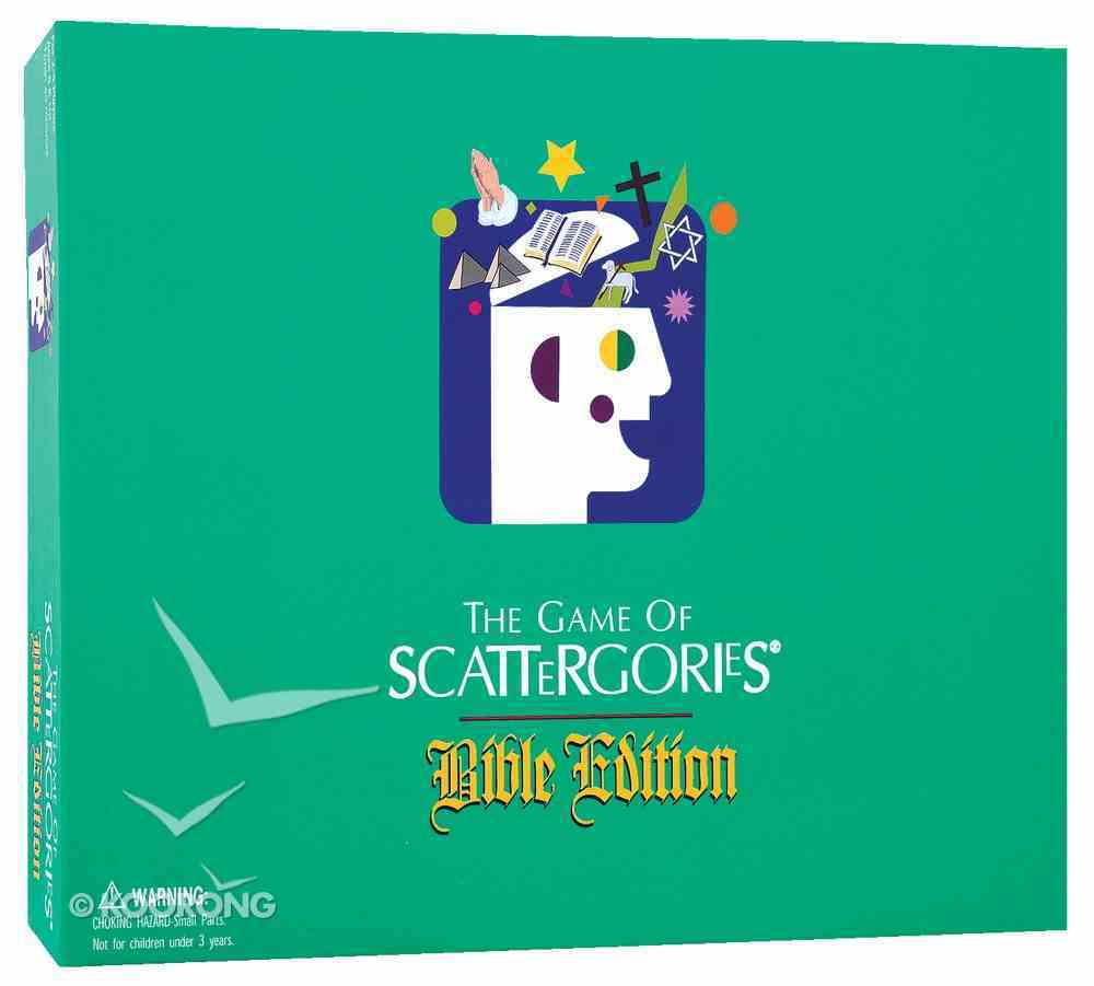 The Game of Scattergories (Bible Edition) Game