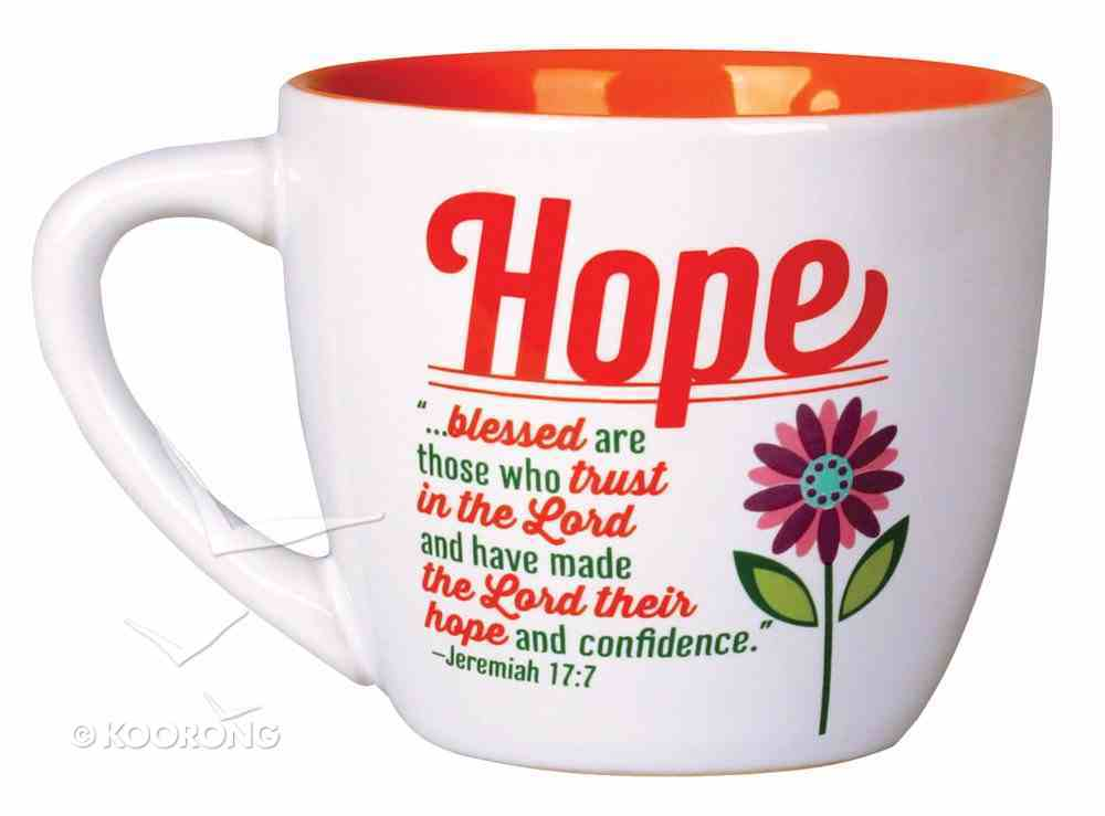 Ceramic Mug: Hope - Blessed Are Those Who Trust in the Lord (Jeremiah 17:7) Homeware