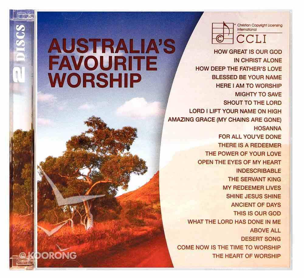 Australia's Favourite Worship - Ccli CD