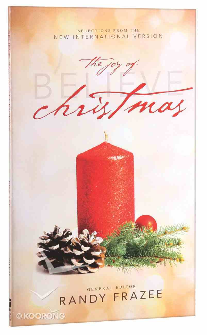 Believe: The Joy of Christmas (NIV) (Believe (Zondervan) Series) Booklet