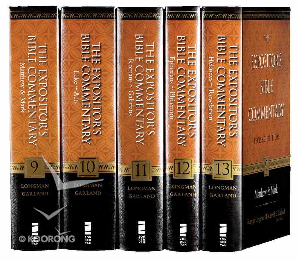 Expositor's Bible Commentary New Testament Revised (5 Vols) (Expositor's Bible Commentary New Testament Series) Hardback