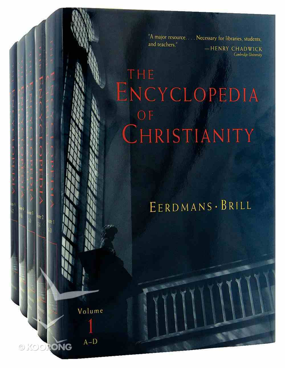 The Encyclopedia of Christianity (Complete 5 Volumes) Hardback