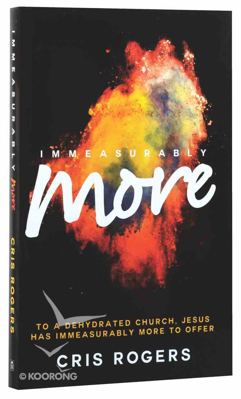 Immeasurably More Paperback