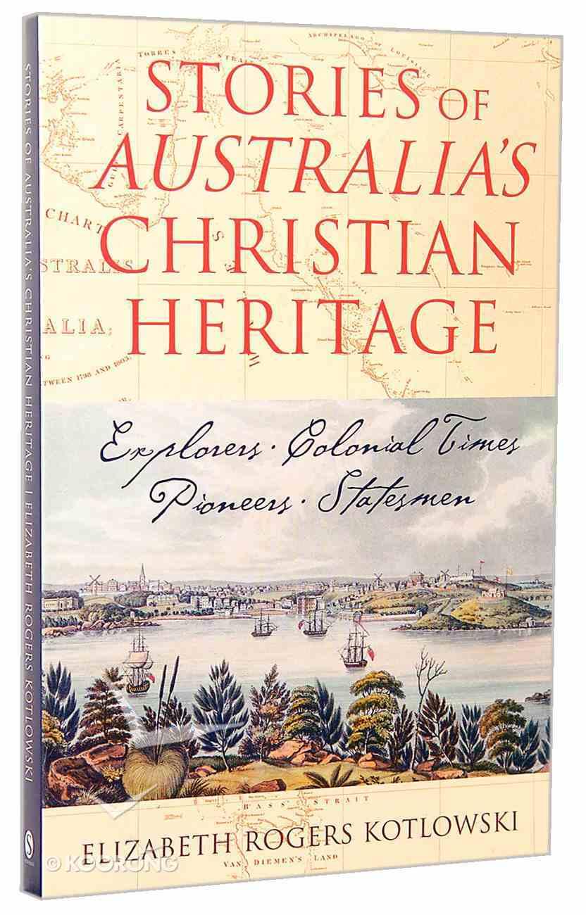 Stories of Australia's Christian Heritage Paperback