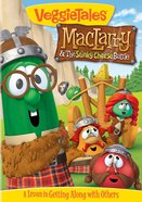 Dvd Veggie Tales #53: Maclarry & The Stinky Cheese Battle