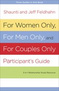 For Women Only And For Men Only Participant's Guide image