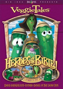 Product: Dvd Veggie Tales: Heroes Of The Bible (Vol 1) Image