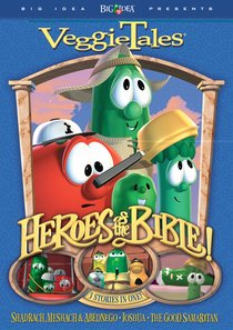 Product: Dvd Veggie Tales: Heroes Of The Bible (Vol 2) Image