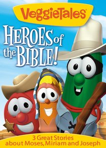 Product: Dvd Veggie Tales: Heroes Of The Bible (Vol 3) Image