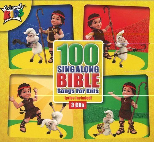 Product: 100 Singalong Bible Songs For Kids Image