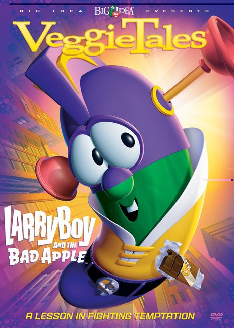 Product: Dvd Veggie Tales #27: Larryboy And The Bad Apple Image