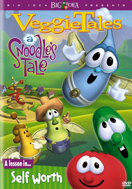 Product: Dvd Veggie Tales #21: Snoodles Tale, A Image
