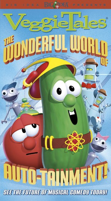 Product: Dvd Veggie Tales #18: Wonderful World Of Auto Tainment, The Image