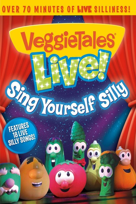 Product: Dvd Veggie Tales Live! Sing Yourself Silly Image