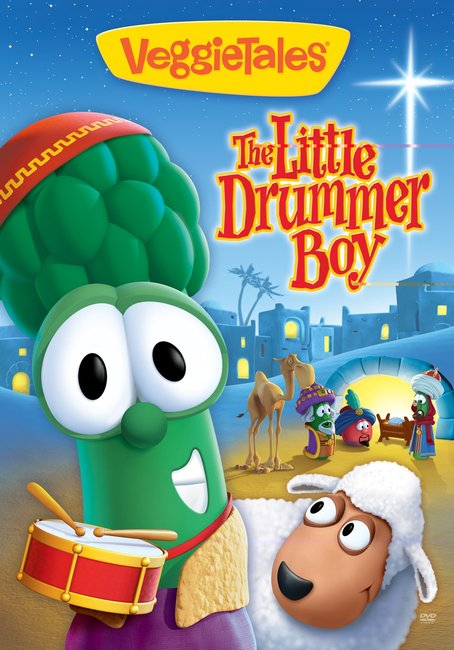 Product: Dvd Veggie Tales #43: Little Drummer Boy Image