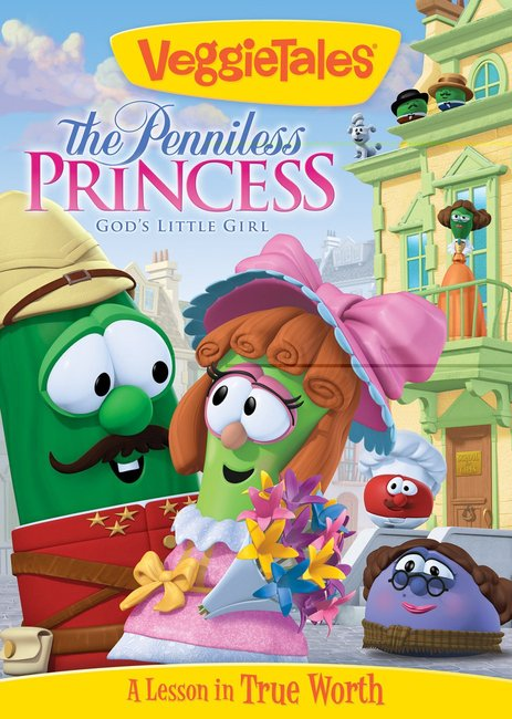 Product: Dvd Veggie Tales #49: The Penniless Princess Image