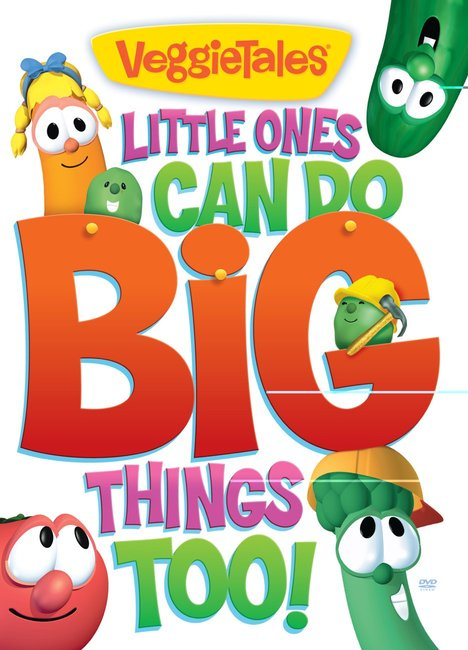 Product: Dvd Veggie Tales #50: Little Ones Can Do Big Things Too Image