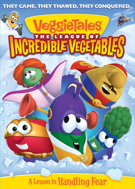 Product: Dvd Veggie Tales #51: League Of Incredible Vegetables Image