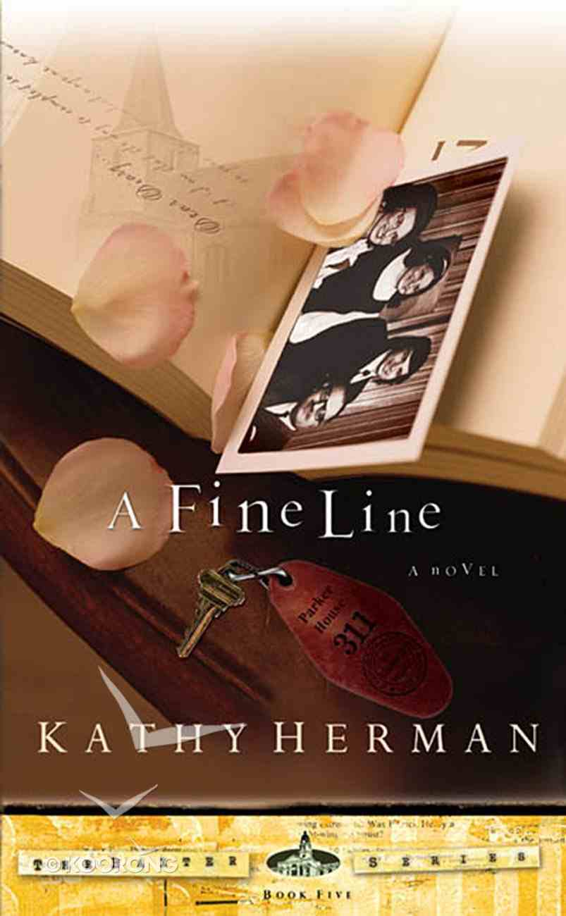 A Fine Line (#05 in Baxter Series) Paperback