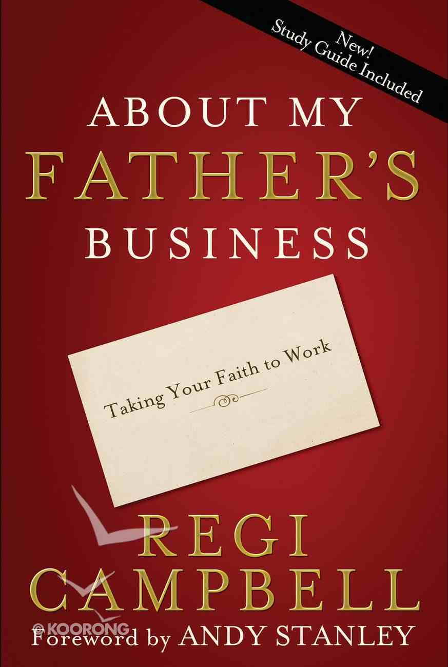 About My Father's Business Paperback