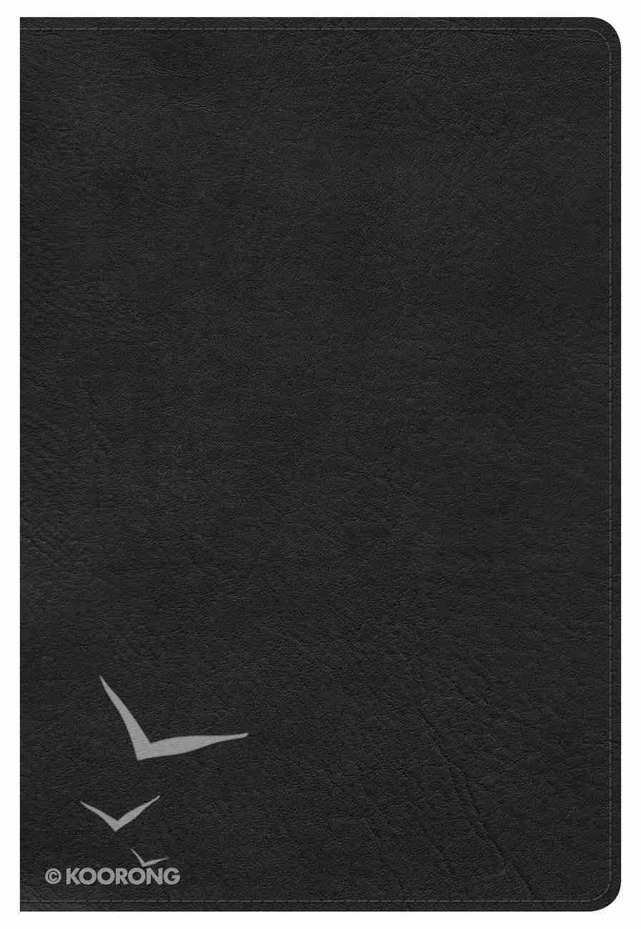 NKJV Large Print Personal Size Reference Bible Black Imitation Leather