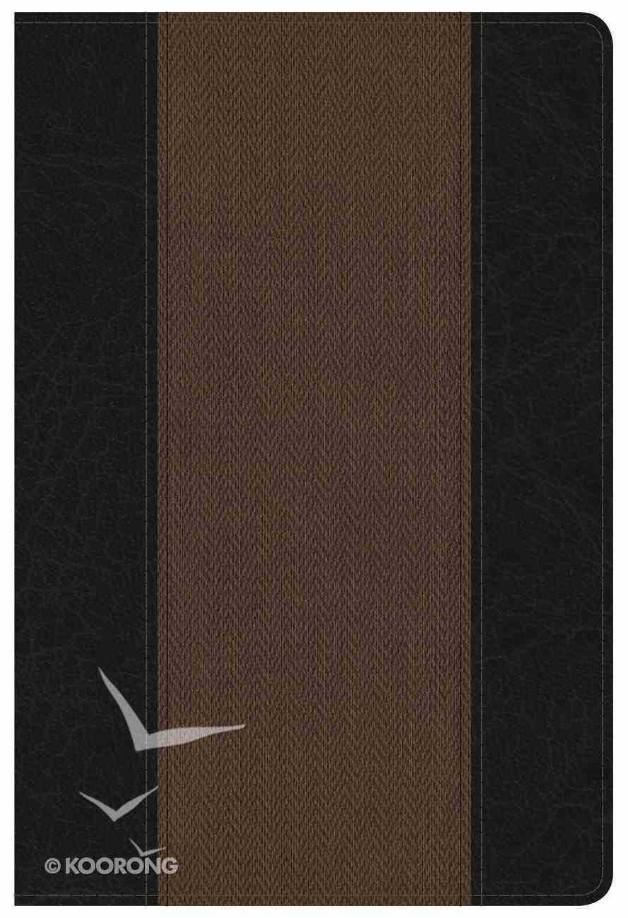 NKJV Summary Bible Black/Brown Imitation Leather