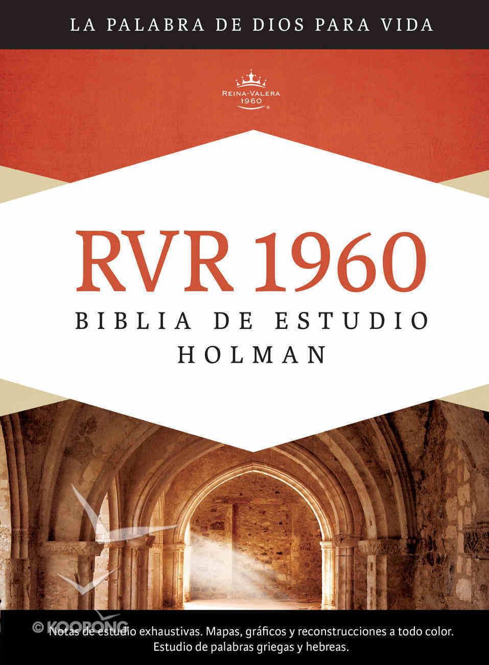 Rvr 1960 Biblia De Estudio Holman, Tapa Dura Hardback