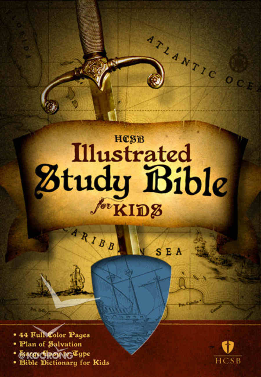 HCSB Illustrated Study Bible For Kids (Boy) Imitation Leather