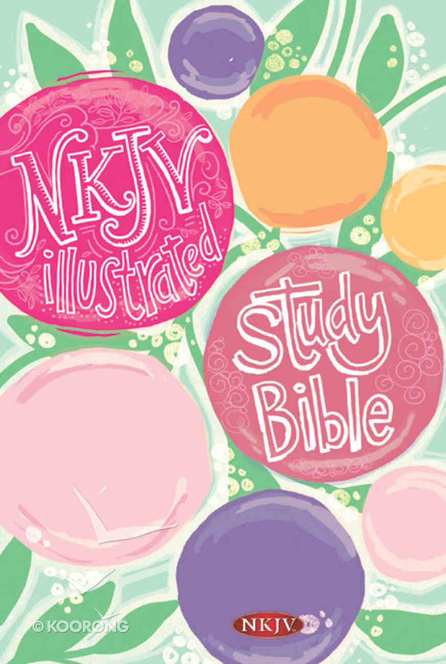 NKJV Illustrated Study Bible For Kids Hardcover (Girls Edition) Hardback