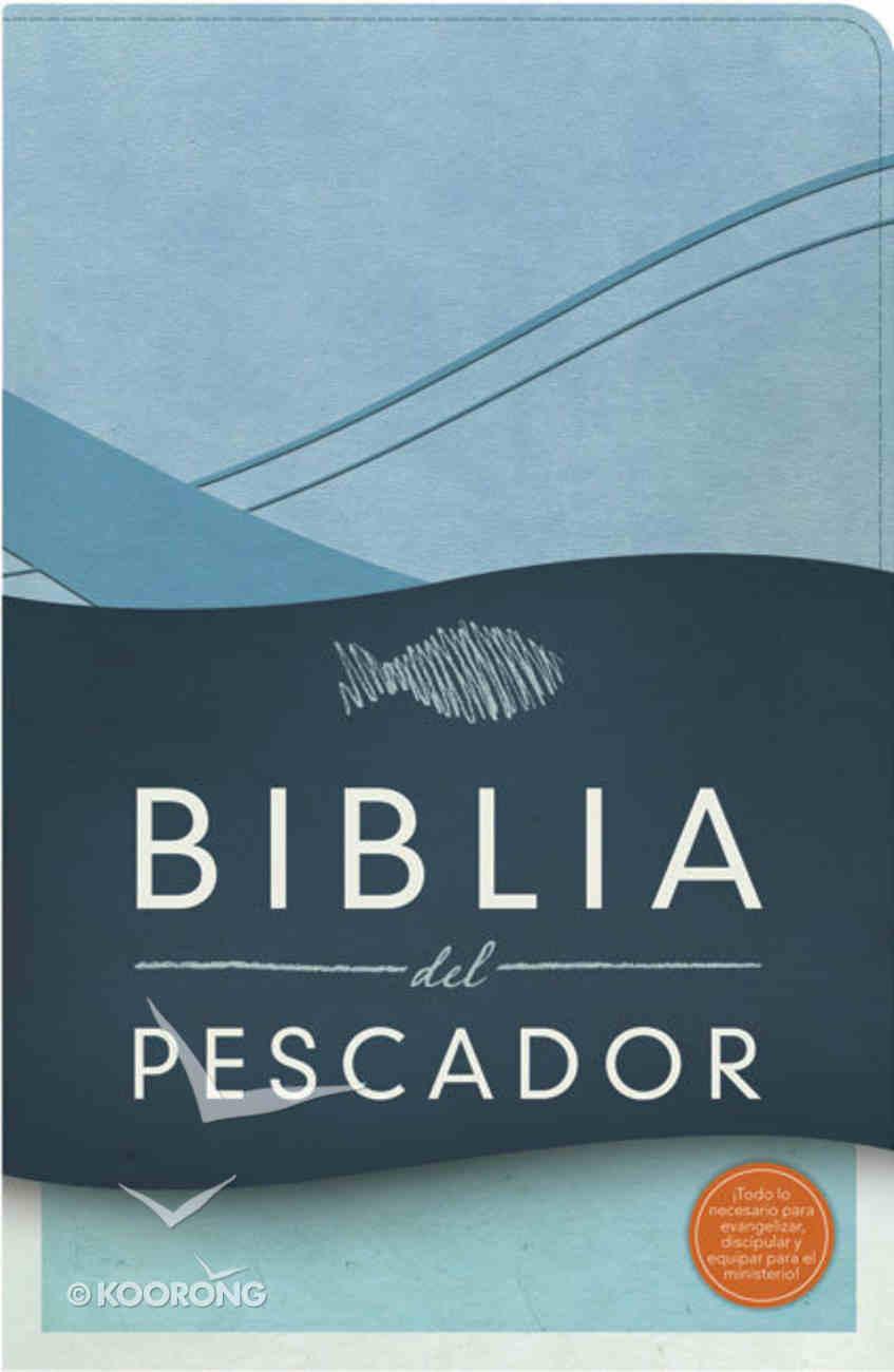 Biblia Del Pescador-Rvr 1960 Cobalt Blue Leathertouch Premium Imitation Leather
