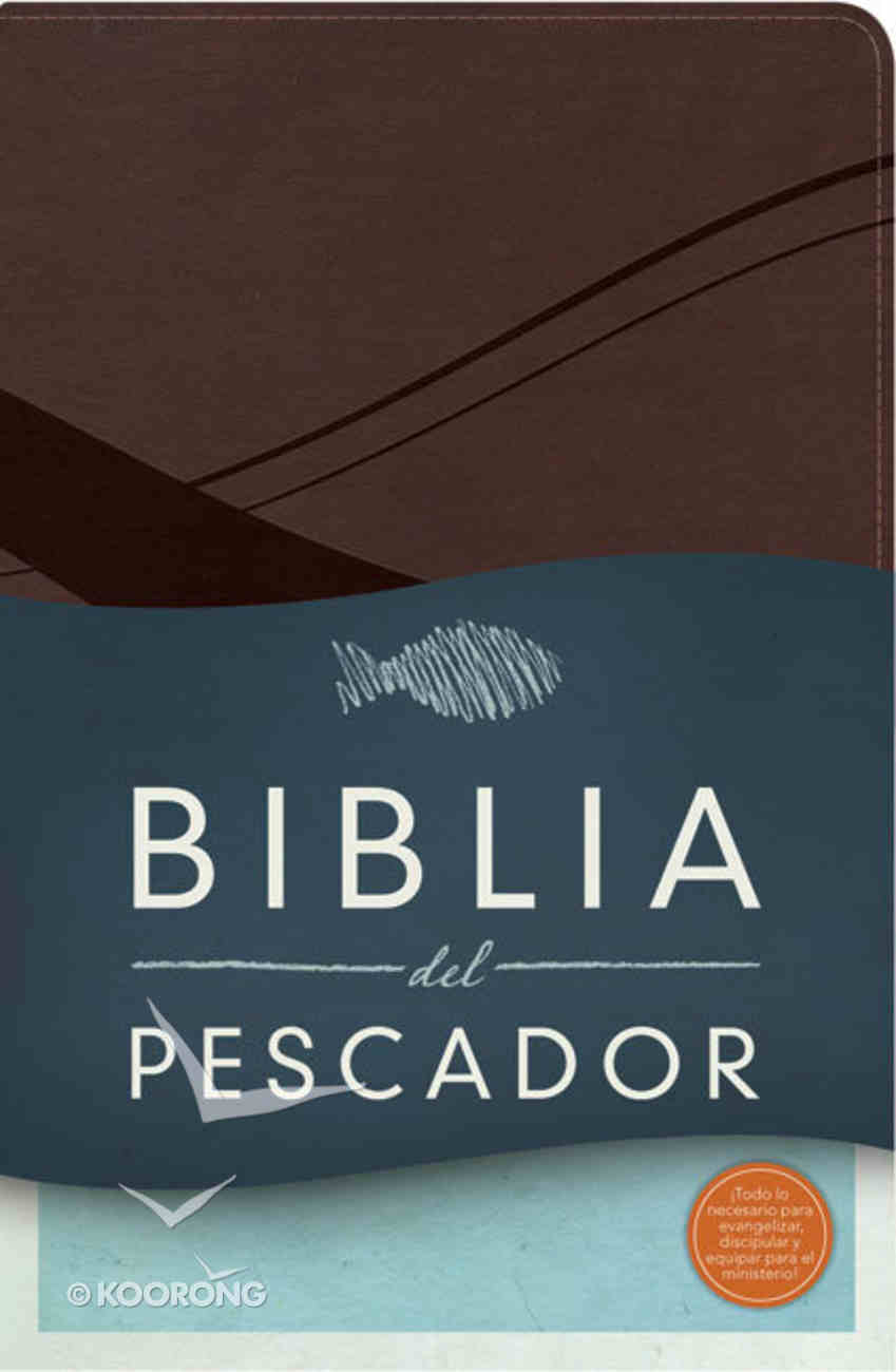 Biblia Del Pescador-Rvr 1960 (Chocolate Leathertouch) Premium Imitation Leather