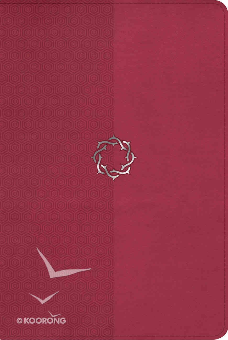 NKJV Essential Teen Study Bible Rose Leathertouch Imitation Leather
