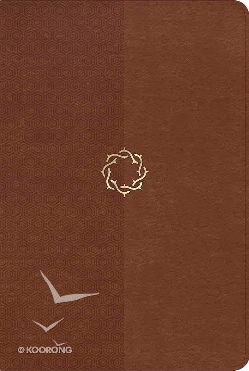 NKJV Essential Teen Study Bible Walnut Leathertouch Imitation Leather