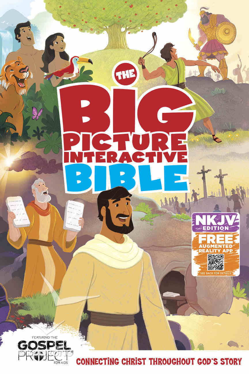 The NKJV Big Picture Interactive Bible, Hardcover Hardback
